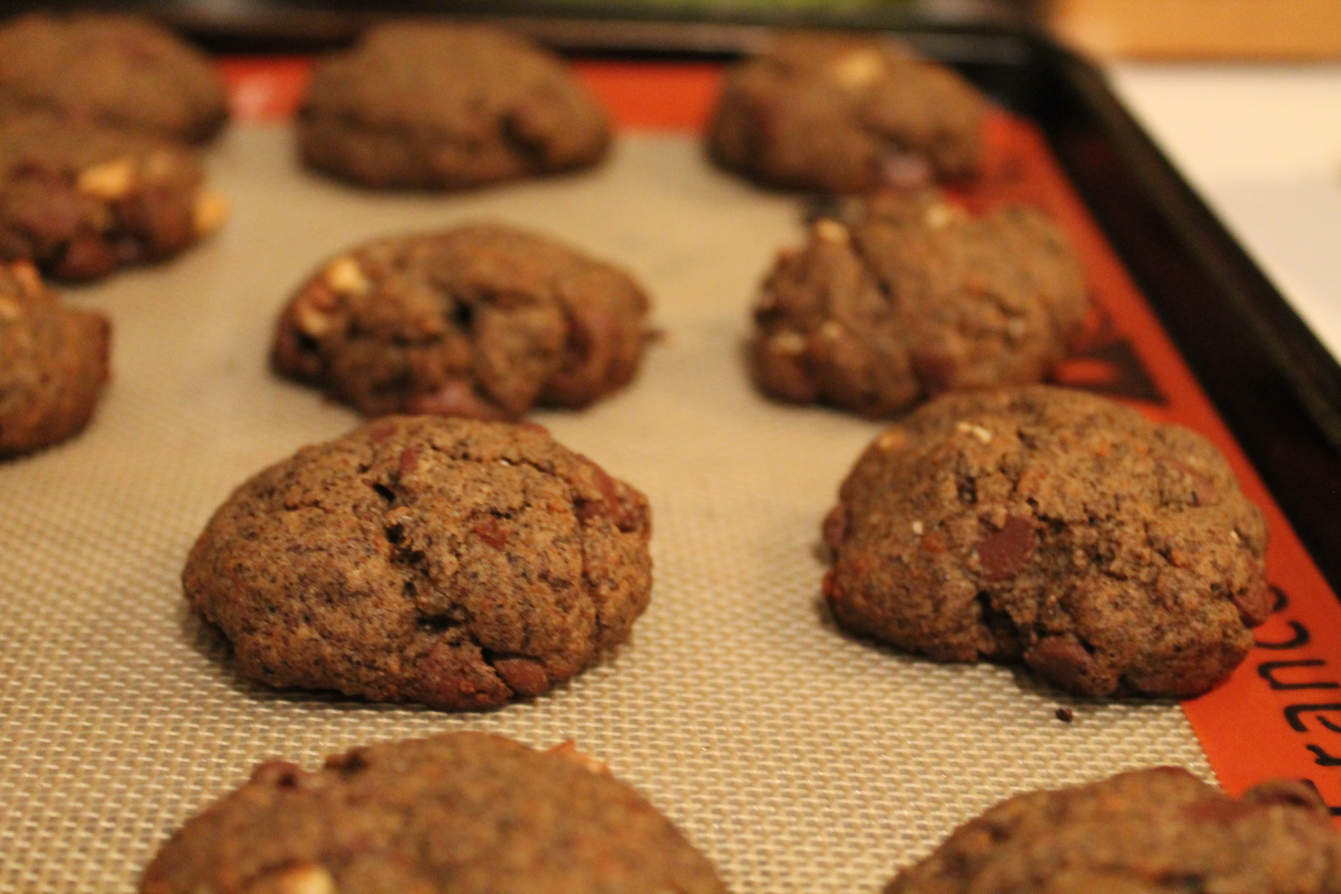 Buckwheat Chocolate Chip Cookies adapted from Thrive Energy Cookbook